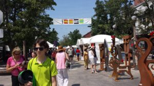 Ann Arbor Art Fair - Southside - Picture 1