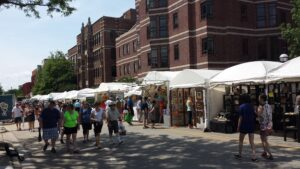 Ann Arbor Art Fair - South Side - Picture 2